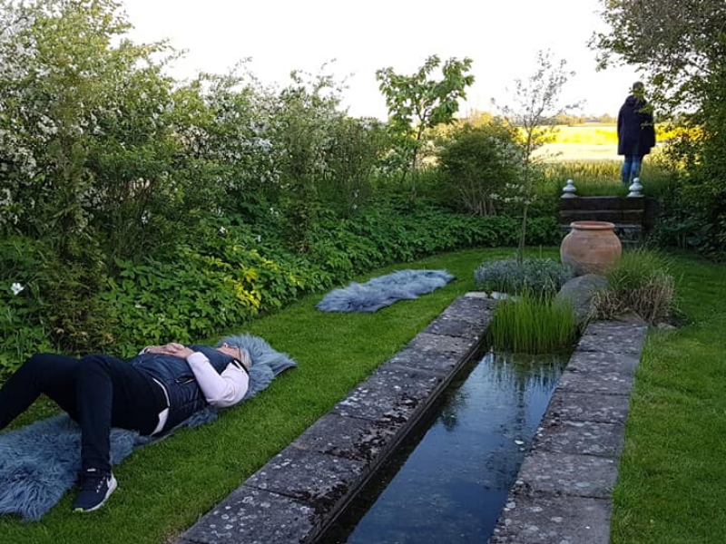 Malin Jensen i Lottie's trädgård – Ängelholm